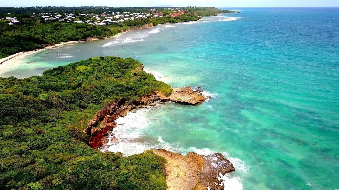 Superbe randonnee au helleux sainte anne lagon bleu - Sainte anne guadeloupe office du tourisme ...