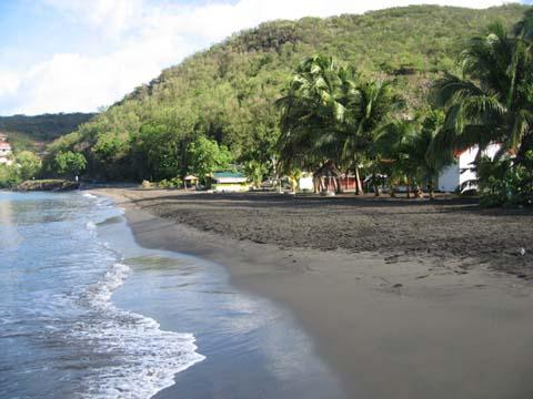 plage sable noir guadeloupe 2