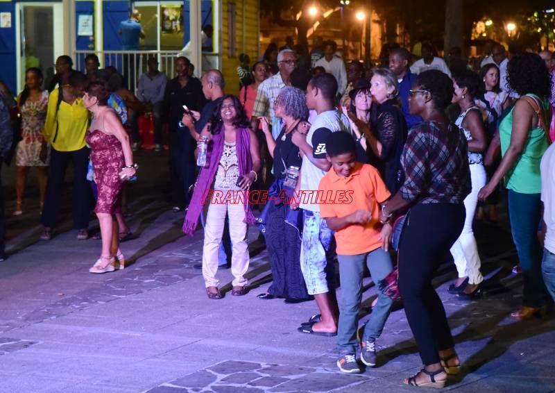 Discothèque à ciel ouvert en Guadeloupe