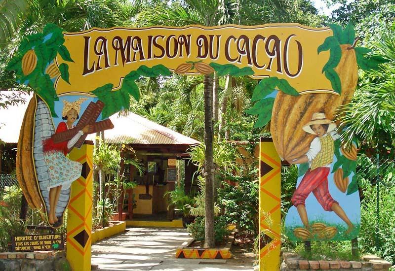 VISITE DE LA MAISON DU CACAO Guadeloupe