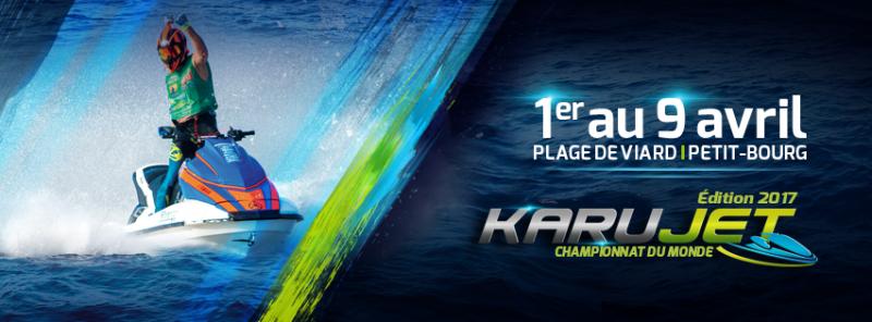 Championnat du Monde de KARU JET en Guadeloupe : 21ème édition
